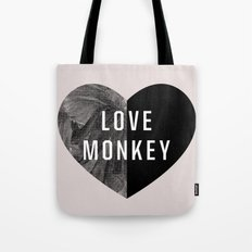 Love Monkey Tote Bag