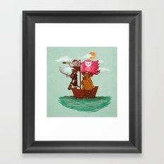 The Pirates Framed Art Print