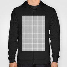 Grid (White/Silver) Hoody