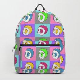 Retro Pop Art Guinea Pig Pattern! Backpack