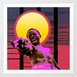 City of god Art Print
