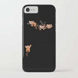 Pocket Red Panda Bears iPhone Case