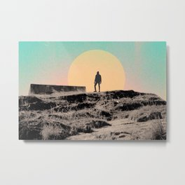 Give me solitude. Give me silence. Metal Print