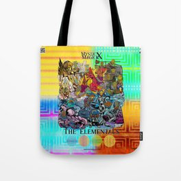 Mysticx & Magick: The Elemental Tribes of the Lost Continent - Art Cover Tote Bag