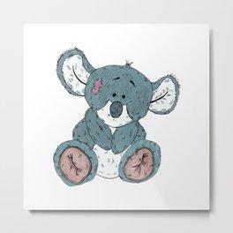 Cuddly Koala Metal Print