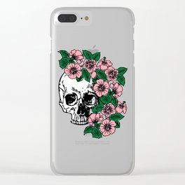 The Flourishing Death Clear iPhone Case