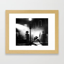 Exorcist Calling Framed Art Print