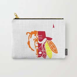 Blackhawks Bulls Carry-All Pouch