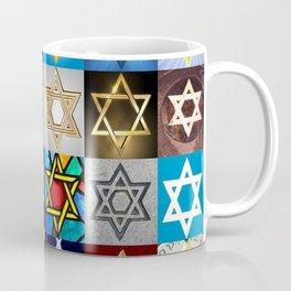 Star of David Montage Coffee Mug