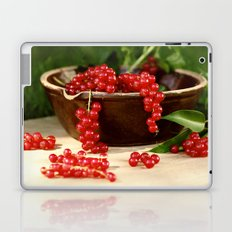 Delicious berries in still life Laptop & iPad Skin
