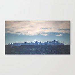 Mountainside Canvas Print
