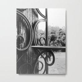 Unlit Metal Print