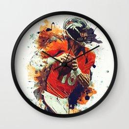 Peyton Manning Wall Clock