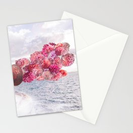 Floral Fog Horn Stationery Cards