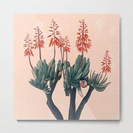 A blooming Plant Metal Print