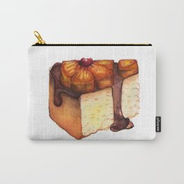 Pineapple Upside-Down Cake Slice Carry-All Pouch