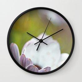 Pure Petals Wall Clock