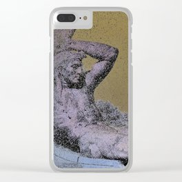 The Sublime Of Folly Clear iPhone Case