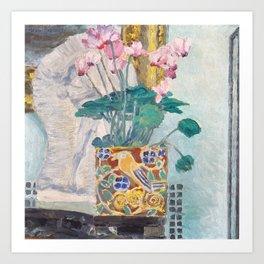 "Charles Rennie Mackintosh ""Cyclamen"" Art Print"