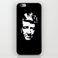 david lynch iPhone & iPod Skins featuring David Lynch by Spyck