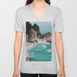 Big Sur California Unisex V-Neck