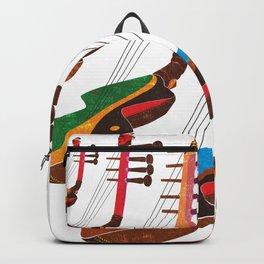 Mangbetu Harp Backpack