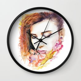 Just me and nature Wall Clock