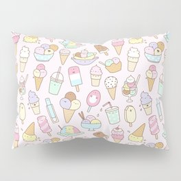 I love Ice Cream Pillow Sham