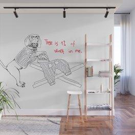 Social awareness of Dachshund Wall Mural
