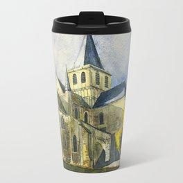 Normandy, France: Abbey of Cerisy Travel Mug