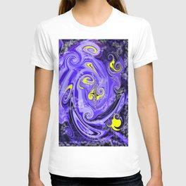 Liquid Dreams Stars Waves & Crazy Patterns T-shirt