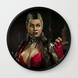 Sindel (Red Skin) Wall Clock