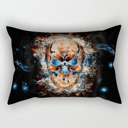 Skull Origins Rectangular Pillow