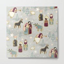 Nativity - the Birth of Jesus Metal Print