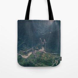 Mountainous town, Sa Pa, Vietnam Tote Bag