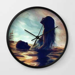 Sea In Our Blood Wall Clock