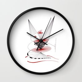 dancing in time Wall Clock