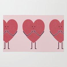 Heart Hands Rug