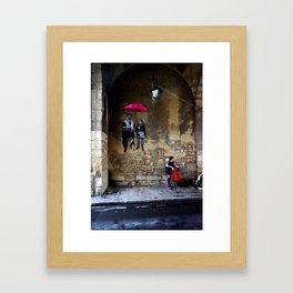 The Celloplayer Framed Art Print