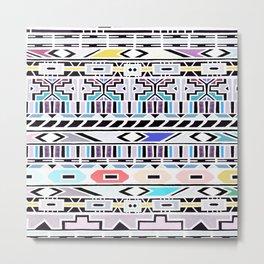 Ndebele Pastel Edition  Metal Print