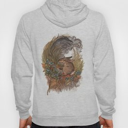 Forget Me Not:The Smoke Rabbit and the Field Rabbit Hoody