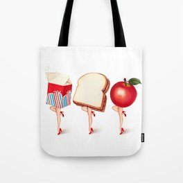 Lunch Ladies Pin-Ups Tote Bag