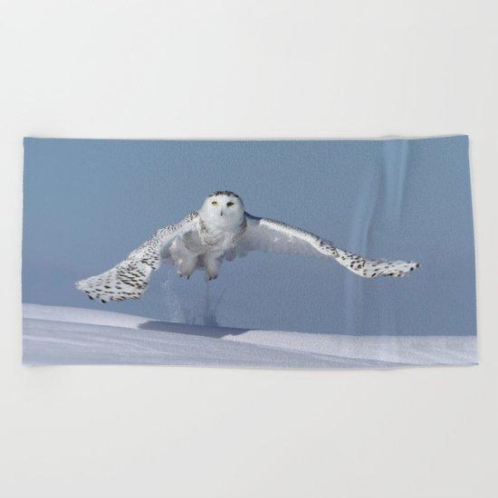 Rocket woman Beach Towel