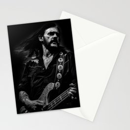 Lemmy - In the black Stationery Cards