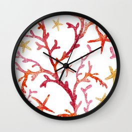 Sea Life Pattern 10 Wall Clock