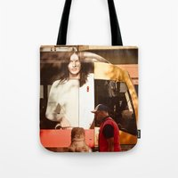chocolate Tote Bags featuring Chocolate by Sébastien BOUVIER