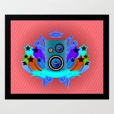 Music King Art Print