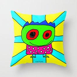 Mikitchu 1 Throw Pillow