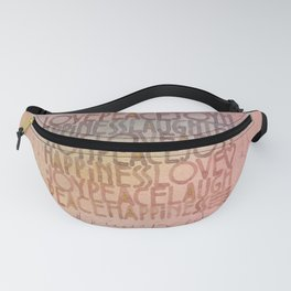 LovePeaceJoy Fanny Pack