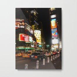 Time Square NYC Metal Print